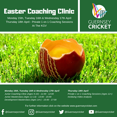 Easter Courses Released