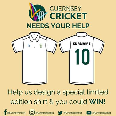 Extension on Design a Guernsey Cricket Shirt