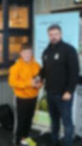 Gareth Evans - Under 11 Player of the Ye