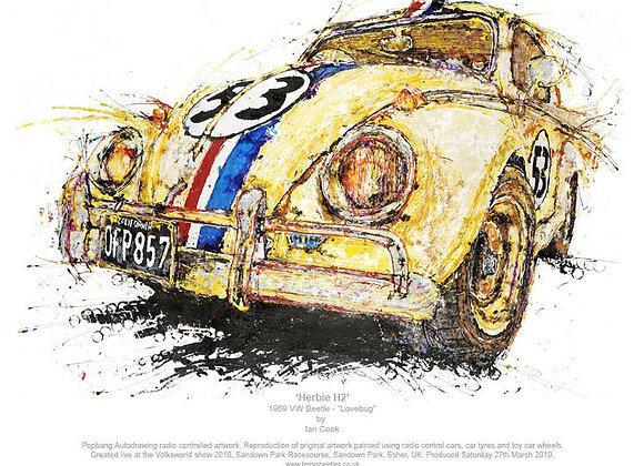 Herbie H2 - 1969 VW Beetle (Lovebug)