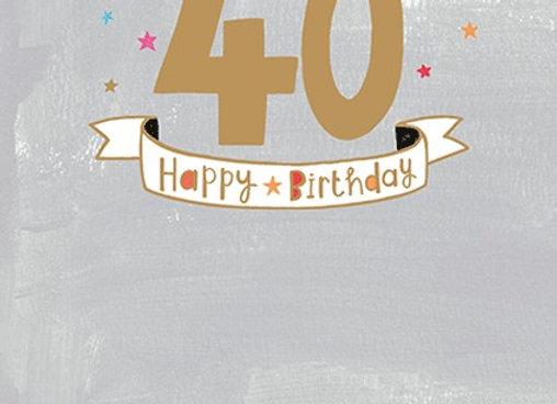 Age 40 Male