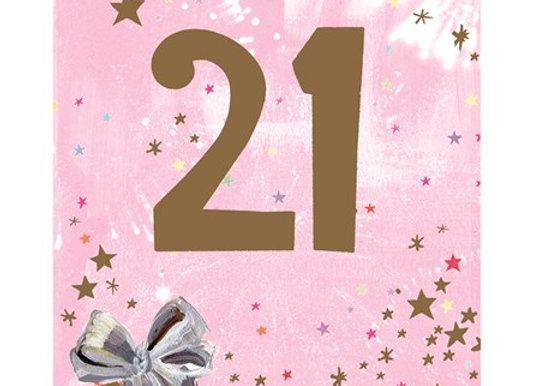 21 Female Birthday