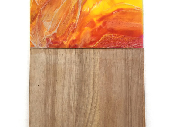 Orange/ Yellow Chopping Board