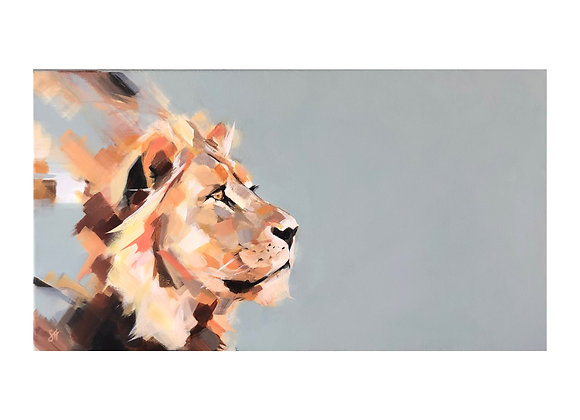 Pride Across the Plains - Ayize (Lion)