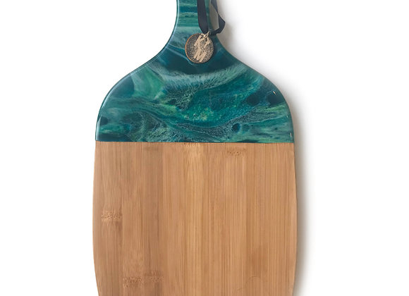 Turquoise Chopping Board