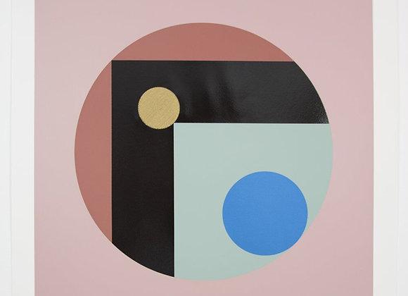Pearl Moon - Geometric Print