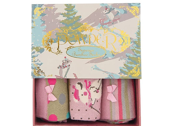 Ladies sock gift box - Stag