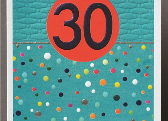 Male 30th Birthday