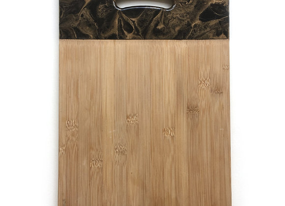 Black Chopping Board