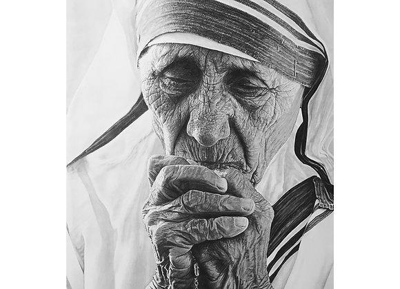 Mother Teresa 'Prey for us'