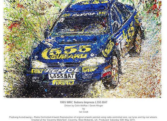 1995 WRC Subaru Impreza L555 BAT