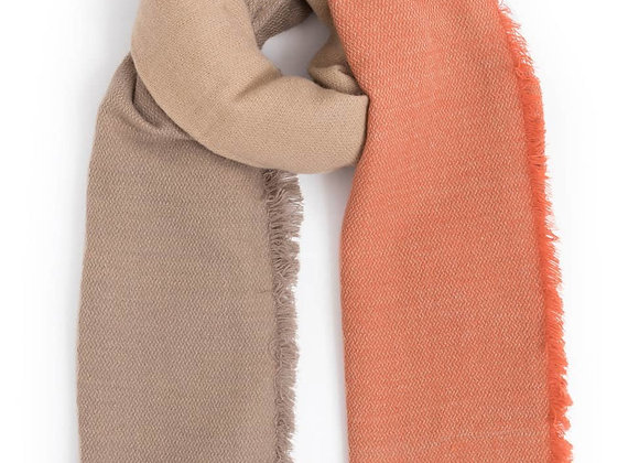 Heavy Knit Scarf (Tan)