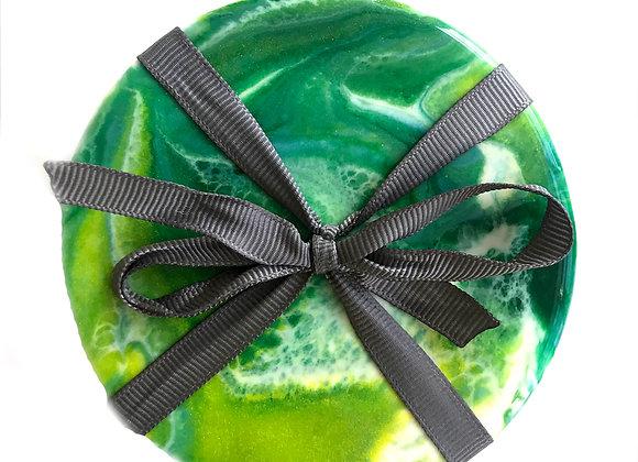 Green Coaster Set