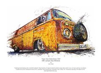 Two type Detectives T2D - VW Camper Bay Window