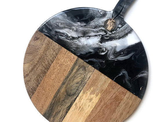 Black & White Chopping Board