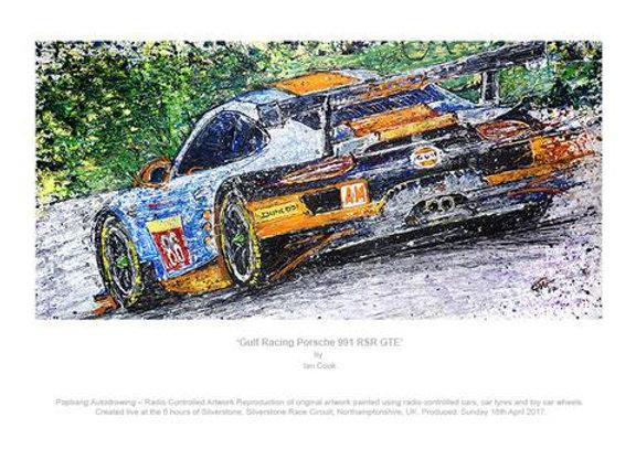 Gulf Racing Porsche 991 RSR GTE