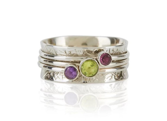 Holi Prosperity Spinning Ring