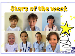 30 April 2021 - Primary Stars of the Week