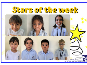 5 March 2021 - Primary Stars of the Week