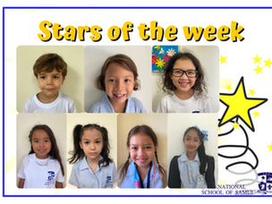 12 March 2021 - Primary Stars of the Week