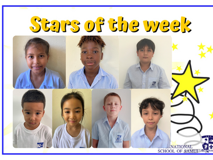 5 February 2021 - Primary Stars of the Week