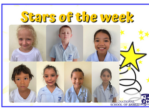 19 March 2021 - Primary Stars of the Week