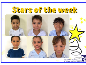 23 April 2021 - Primary Stars of the Week