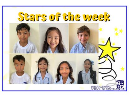 2 October 2020 - Primary KS2 Stars of the Week