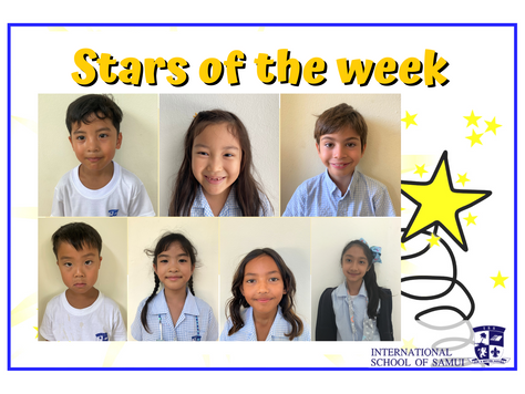 2 October 2020 - Primary KS2 Stars of the Week