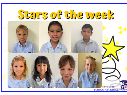 12 February 2021 - Primary Stars of the Week