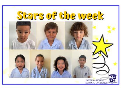 18 September 2020 - Primary KS2 Stars of the Week