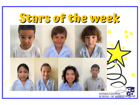 18 September 2020 - Primary KS2 Stars of the Week