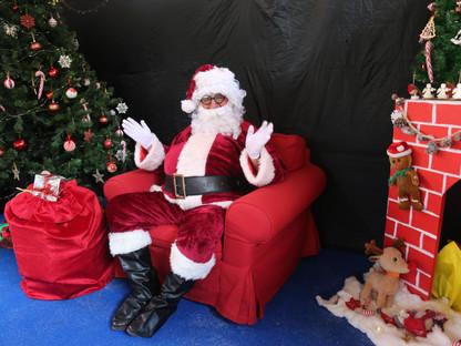 Santa Comes to School