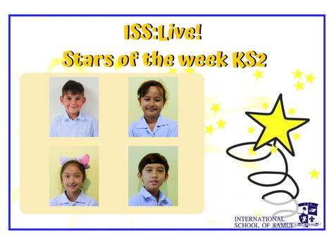 8 June 2020 - Primary KS2 Stars of the Week