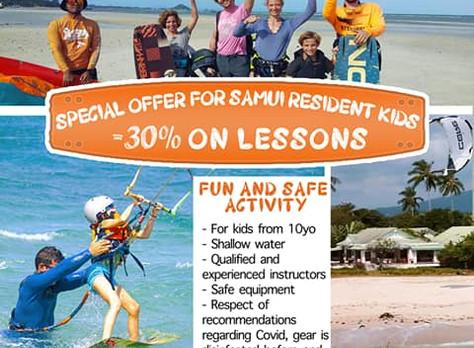 KBA - Kiteboarding School, FOR SAMUI KIDS -30%