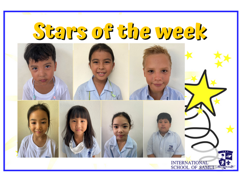 6 November 2020 - Primary KS2 Stars of the Week