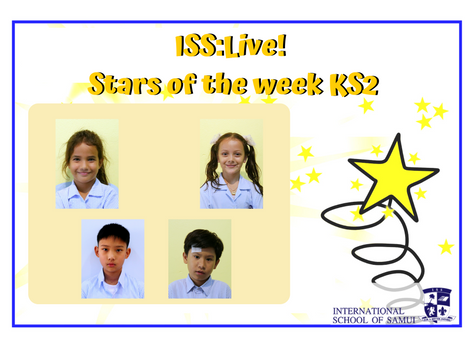 22 May 2020 - Primary KS2 Stars of the Week