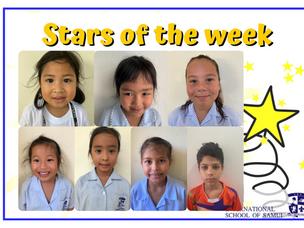 28 พฤษภาคม 2021 - Primary Stars of the Week