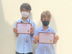 ISS Students Shine at TEDET Tests