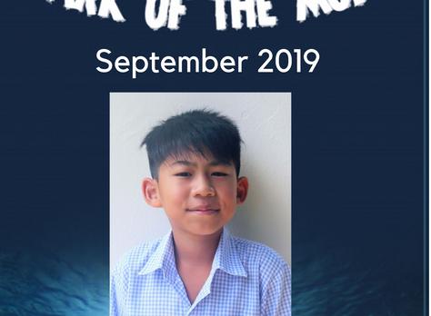 September 2019 - Shark of the Month