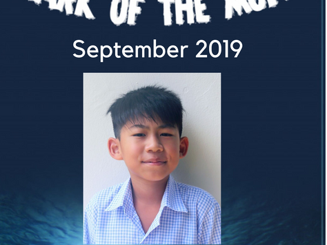 September 2019 - Shark of the Month