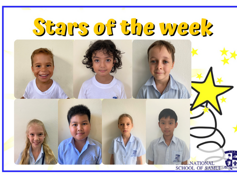 22 January 2021 - Primary Stars of the Week
