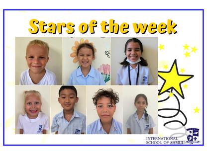 9 October 2020 - Primary KS2 Stars of the Week