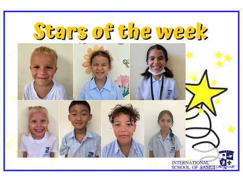 9 October 2020 - Primary KS2 Stars of the Week