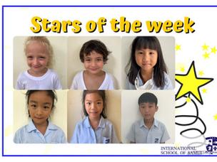 21 พฤษภาคม 2021 - Primary Stars of the Week