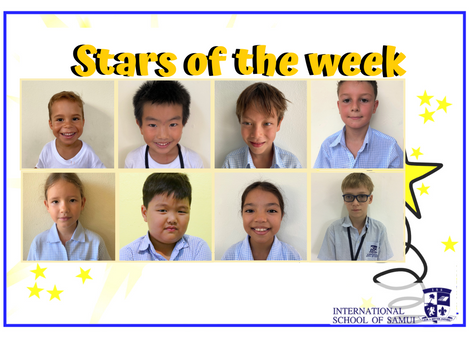 11 September 2020 - Primary KS2 Stars of the Week