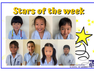 26 February 2021 - Primary Stars of the Week