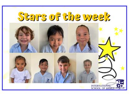 4 December 2020 - Primary KS2 Stars of the Week
