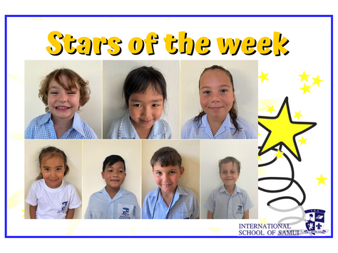 4 December 2020 - Primary KS2 Stars of the Week