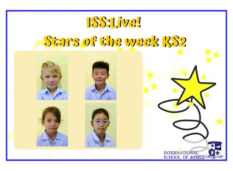 19 June 2020 - Primary KS2 Stars of the Week